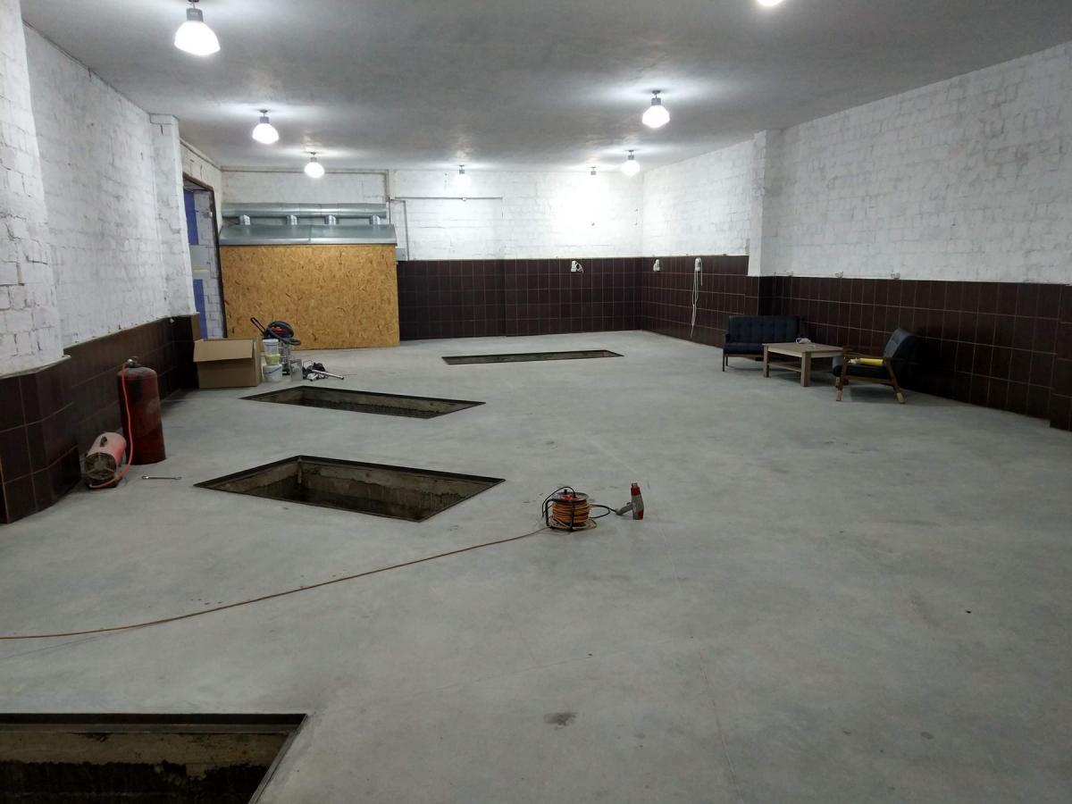 бетон разметка
