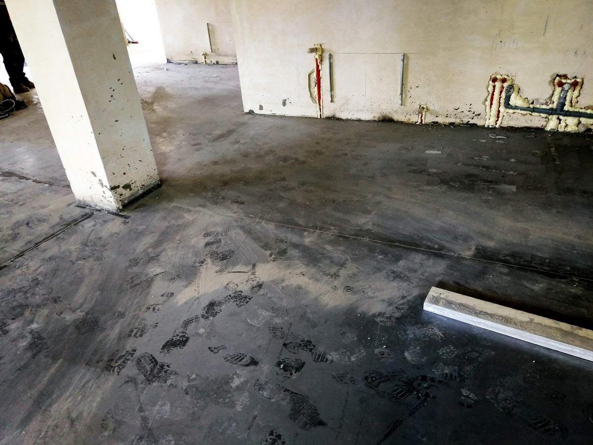 пыль бетон