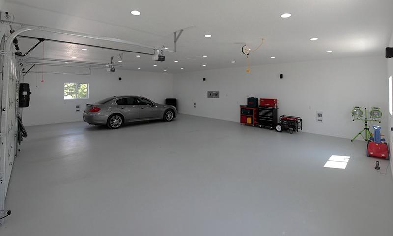 Наливные полимерные полы своими руками в гараже